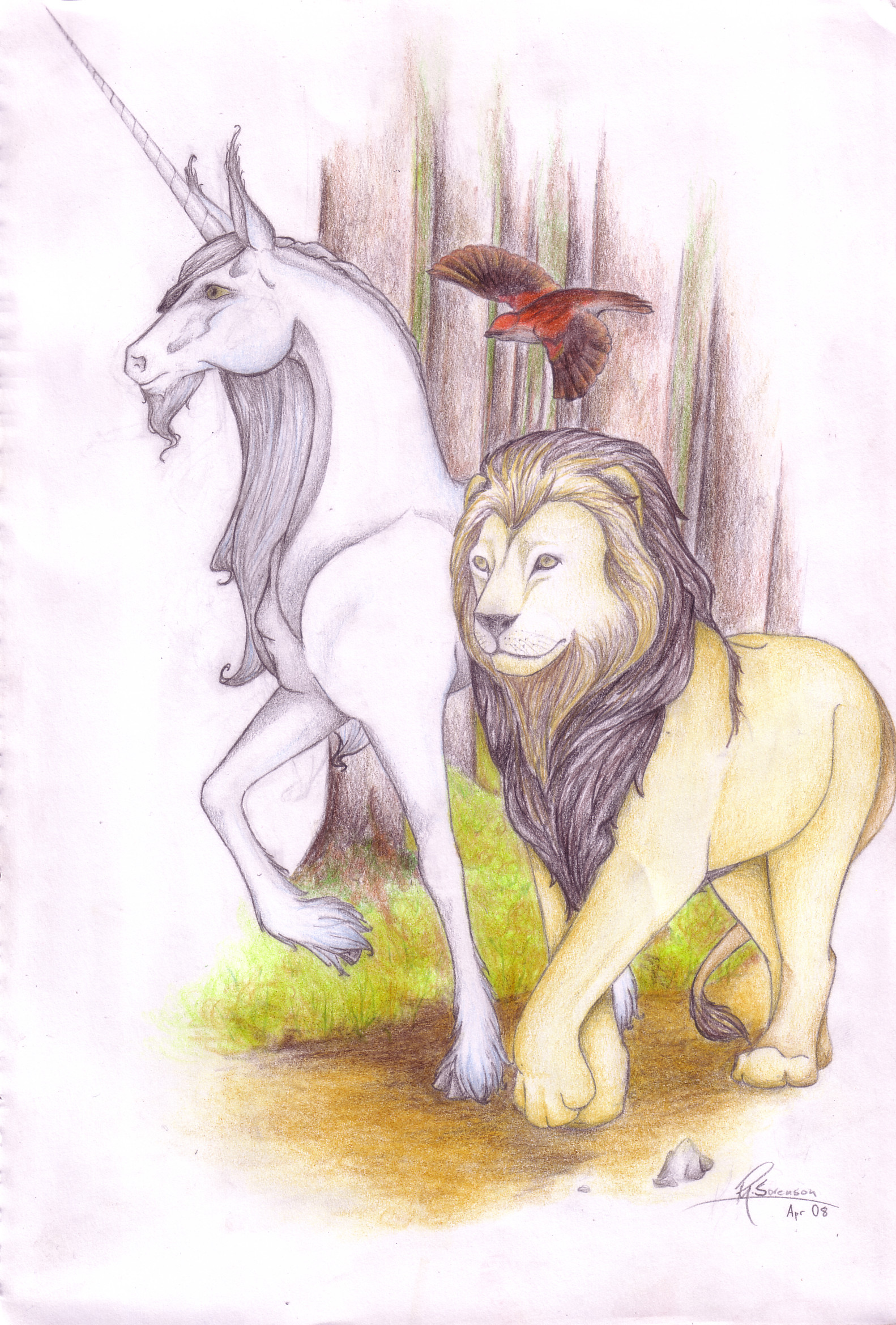 Unicorn_and_the_Lion_by_Essence_of_Equus