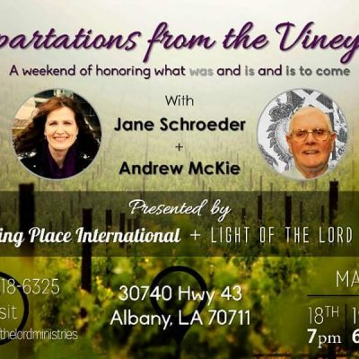 Impartations from the Vineyard