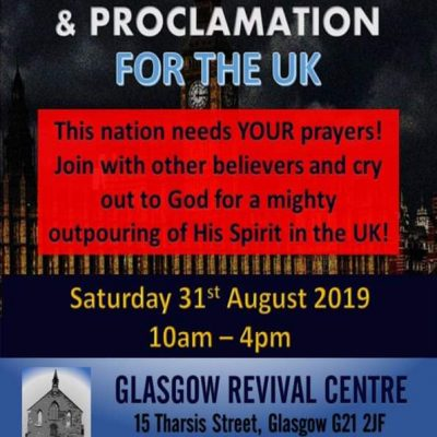 Day of Prayer & Proclamation for the UK