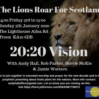 The Lions Roar For Scotland