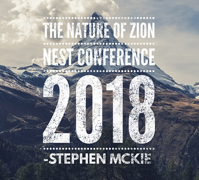 Stevie Mckie @ The Nature Of Zion - The Nest Conference 2018